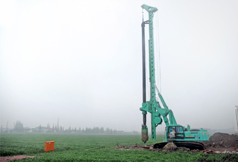 Rotary drilling rig,piling machine